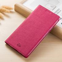 Vintage peňaženkové PU kožené puzdro pre BlackBerry Keyone - rose
