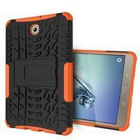 Outdoor odolný obal na tablet Samsung Galaxy Tab S2 8.0 T710/ T715 - oranžový