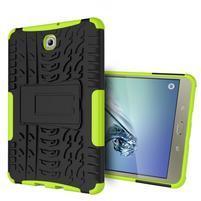 Outdoor odolný obal na tablet Samsung Galaxy Tab S2 8.0 T710/ T715 - zelený