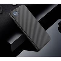 All plastový kryt s hliníkovým zadným dielom na mobil Honor 10 - čierny
