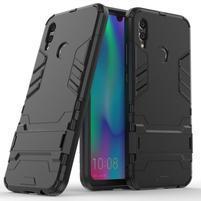 Kick odolný hybridný obal na mobil Honor 10 Lite - čierny