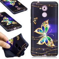 Colory gélový obal pre mobil Huawei Nova Smart - kouzelný motýľek