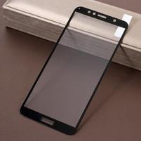 Silk celoplošné tvrdené sklo na Honor 7A a Huawei Y6 Prime (2018) - čierne