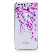 Bossi gélový obal na Honor 8 - rozkvitnutá halúzka