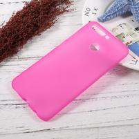 Matný gélový obal na mobil Honor 8 Pro - rose