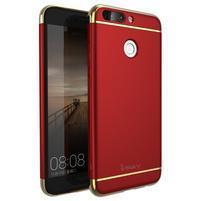 GT luxusní 3v1 obal na mobil Honor 8 Pro - červený
