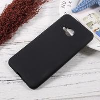 Matný gelový obal na HTC U Play - čierny