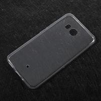Ultratenký gélový obal na mobil HTC U11 - transparentný