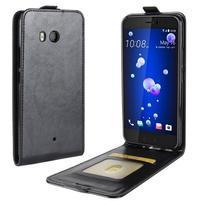 Flipové puzdro na mobil HTC U11 - čierne