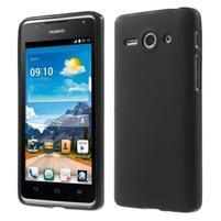 Double matný gélový obal na mobil Huawei Ascend Y530 - čierny