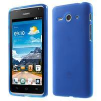Double matný gélový obal na mobil Huawei Ascend Y530 - modrý