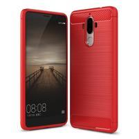 Carbon odolný gélový obal na Huawei Mate 9 - červený
