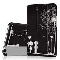 Pattern knižkové zapínacie puzdro na Huawei MediaPad M3 8.4 - láska