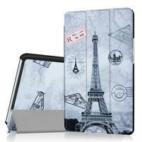 Pattern knižkové zapínacie puzdro na Huawei MediaPad M3 8.4 - Eiffelova veža