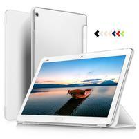 Trojpolohové klopové puzdro na Huawei MediaPad M3 Lite 10 - biele