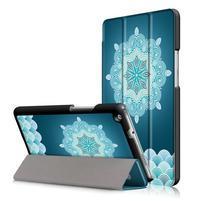 Emotive polohovatelné puzdro pre Huawei MediaPad M3 Lite 8.0 - mandala