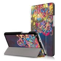 Emotive polohovatelné puzdro pre Huawei MediaPad M3 Lite 8.0 - strom