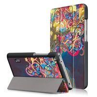 Patty PU kožené puzdro na tablet Huawei MediaPad T3 7.0 - zvodný strom
