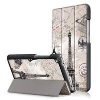 Patty PU kožené puzdro na tablet Huawei MediaPad T3 7.0 - Eiffelova veža