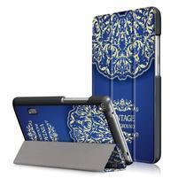 Patty PU kožené puzdro na tablet Huawei MediaPad T3 7.0 - vintage