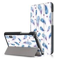 Patty PU kožené puzdro na tablet Huawei MediaPad T3 7.0 - pierka