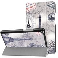 Emotive PU kožené puzdro pre Huawei MediaPad T3 8.0 - Eiffelova veža