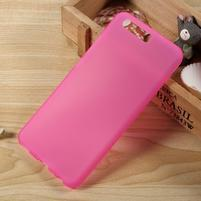 Matný gelový obal na mobil Huawei P10 - rose