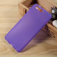 Matný gelový obal na mobil Huawei P10 - fialový