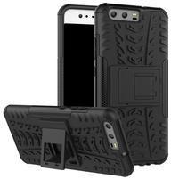 Outdoor odolný obal na mobil Huawei P10 - čierny
