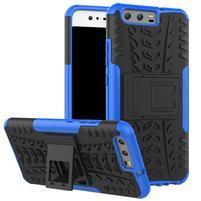 Outdoor odolný obal na mobil Huawei P10 - modrý