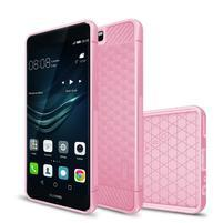 IVS hexagon odolný gélový obal na Huawei P10 - ružový