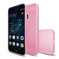 IVS hexagon gélový obal na Huawei P10 Lite - ružový