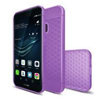 IVS hexagon gélový obal na Huawei P10 Lite - fialový