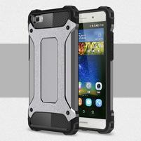 Guard outdoor odolný obal na Huawei P8 Lite - šedý