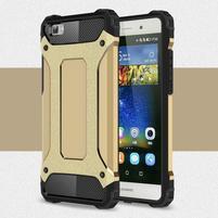 Guard outdoor odolný obal na Huawei P8 Lite - zlatý
