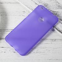 Matný gelový obal na Huawei P9 Lite (2017) - fialový