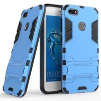 Defender odolný obal so stojančekom na Huawei P9 Lite mini - modrý