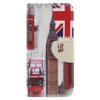 Emotive peňaženkové puzdro na Huawei P9 Lite mini - London