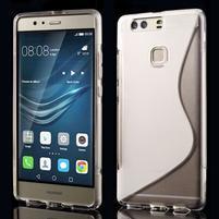S-line gelový obal na Huawei P9 Plus - transparentný