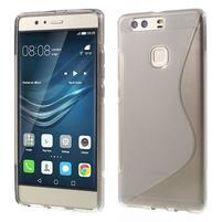 S-line gelový obal na Huawei P9 Plus - sivý