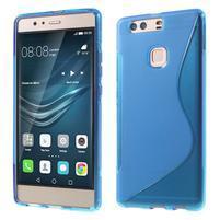 S-line gelový obal na Huawei P9 Plus - modrý