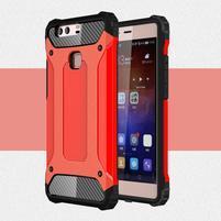 Armory odolný obal na Huawei P9 Plus - červený