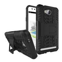 Outdoor odolný obal na mobil Huawei Y3 II - čierny