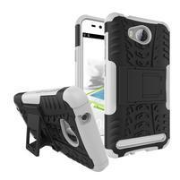 Outdoor odolný obal na mobil Huawei Y3 II - biely