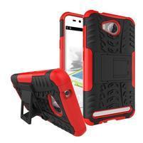 Outdoor odolný obal na mobil Huawei Y3 II - červený
