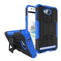 Outdoor odolný obal na mobil Huawei Y3 II - modrý
