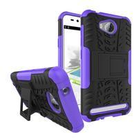Outdoor odolný obal na mobil Huawei Y3 II - fialový