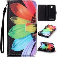 Motive peňaženkové puzdro na mobil Huawei Y3 II -