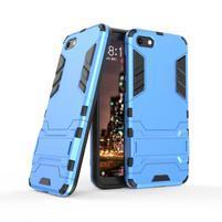 Kick odolný hybridný kryt na mobil Huawei Y5 (2018) - modrý