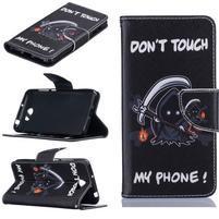 Patty peňaženkové puzdro na mobil Huawei Y5 II - monster